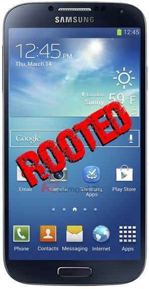 Galaxy s 4 root