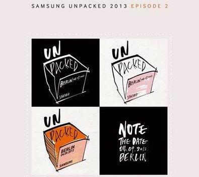 samunpack - Samsung Galaxy Note III será revelado dia 4 de setembro