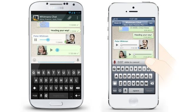 WhatsApp ganha recurso de voz para Android/iOS/BlackBerry e Windows Phone