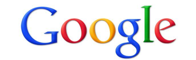 Antigo logotipo do Google