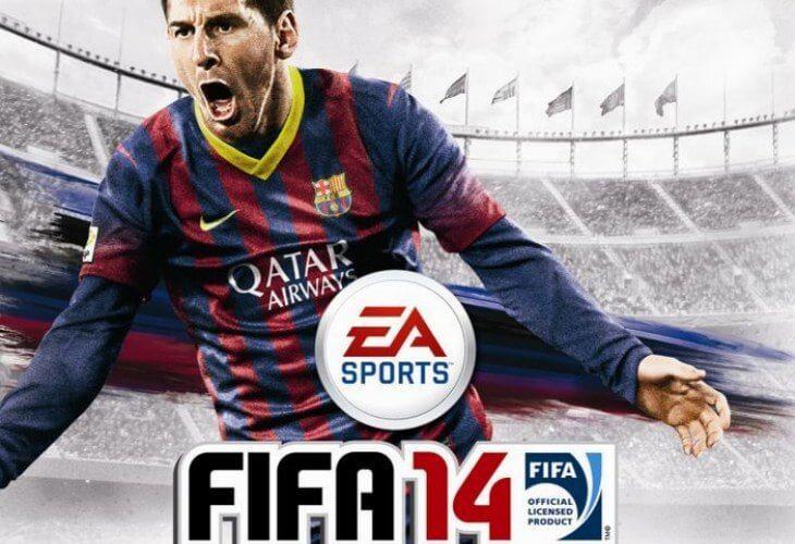 Fifa 14 lionel messi cover