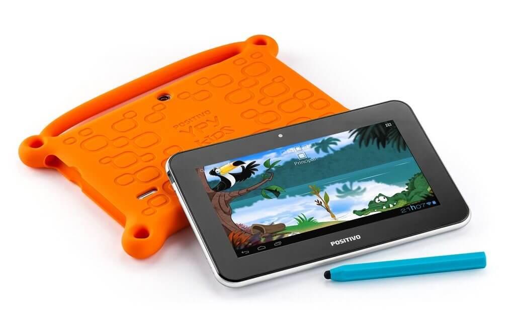 Tablet Ypy Kids da Positivo é lançado para o Dia das Crianças