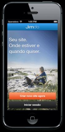 Jimdo lança app para iOS em português