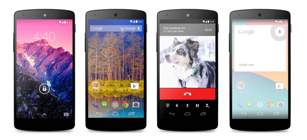 Google inicia vendas do Nexus 5, primeiro smartphone com o Android 4.4 (Kitkat)