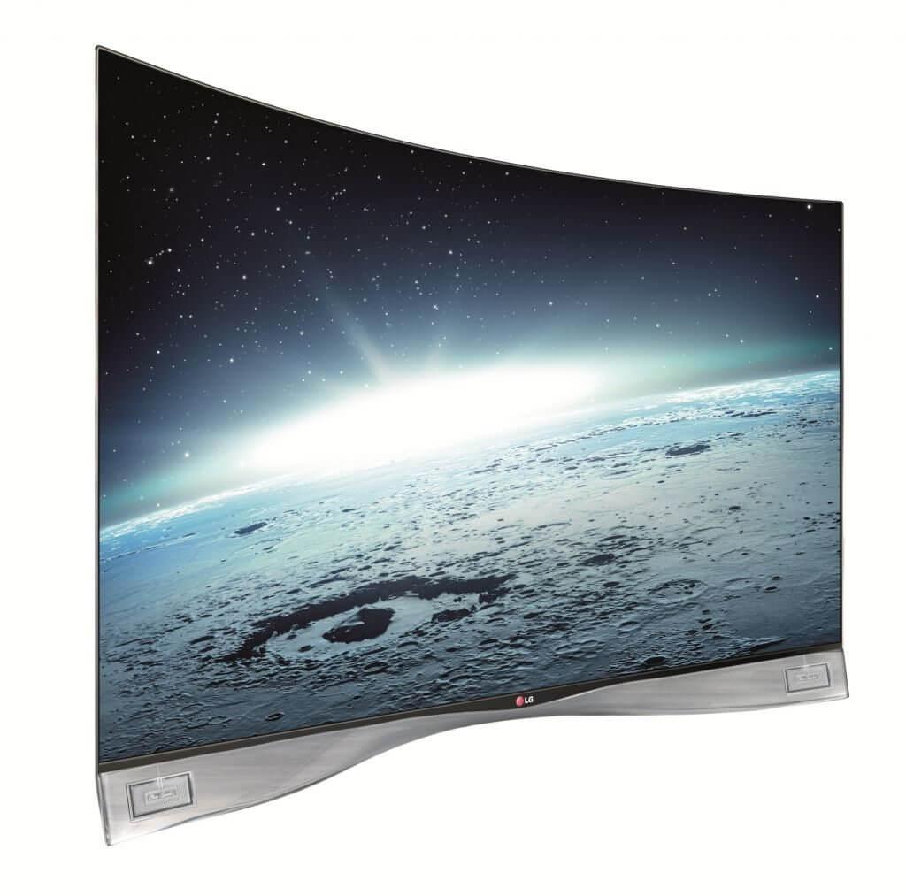 LG lança a primeira TV OLED curva do mundo