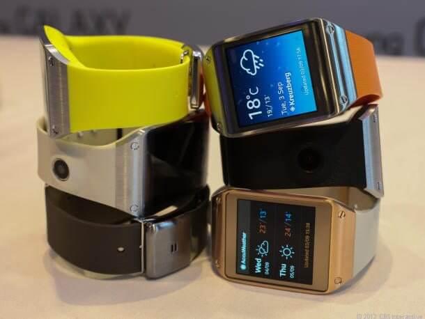 Samsung Galaxy Gear 5573 610x458 - Galaxy Note 3 + Galaxy Gear: hands-on e imagens dos aparelhos