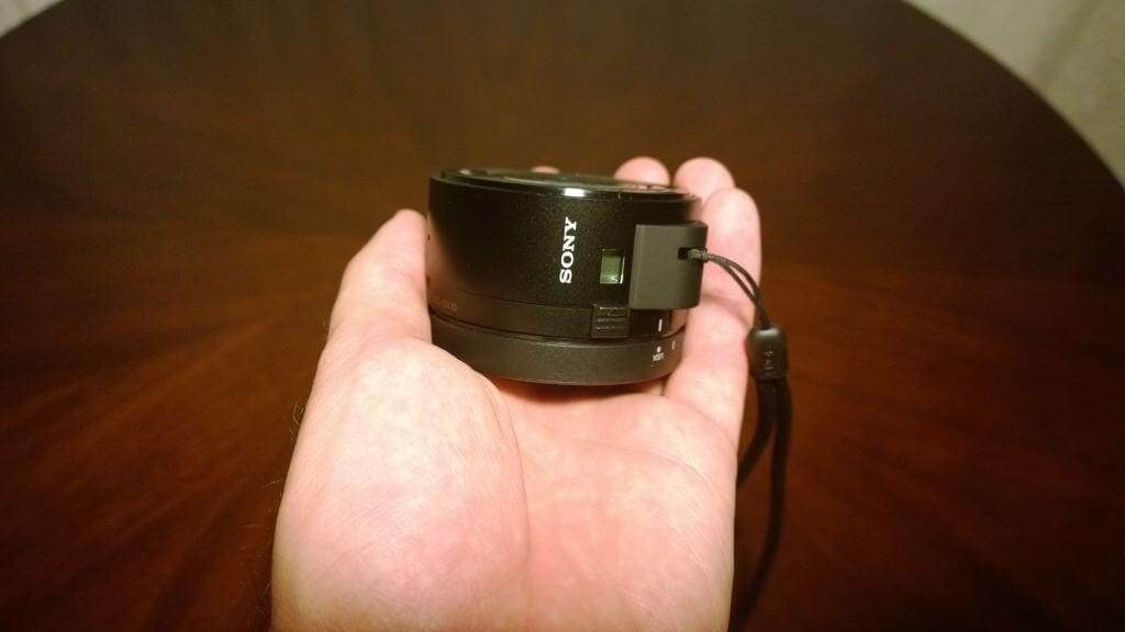 Sony DSC QX10 09 - Sony DSC-QX10, câmera Wi-Fi para smartphones, chega ao Brasil por R$ 999