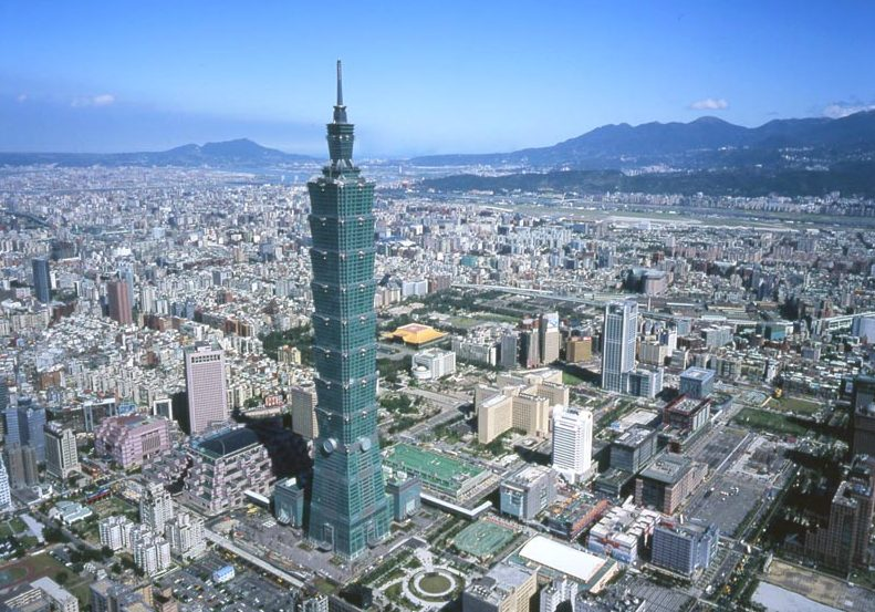 Taipei 101 recebeu o certificado de edifício ecológicamente correto / reprodução