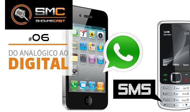 Showmecast número 6 whatsapp e sms