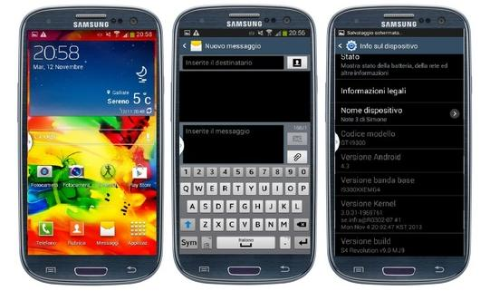 Rom android s4 revolution galaxy siii gt i9300 s3