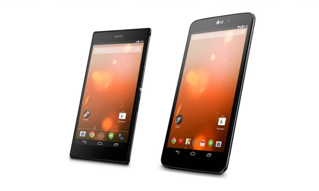 Sony xperia z ultra lg g pad 8. 3 google play edition