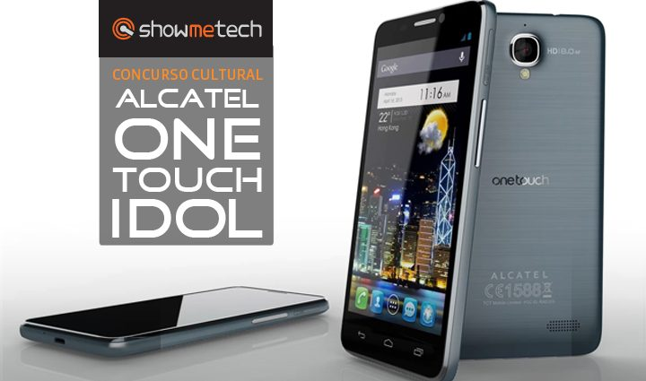 Concurso cultural smartphone alcatel one touch idol