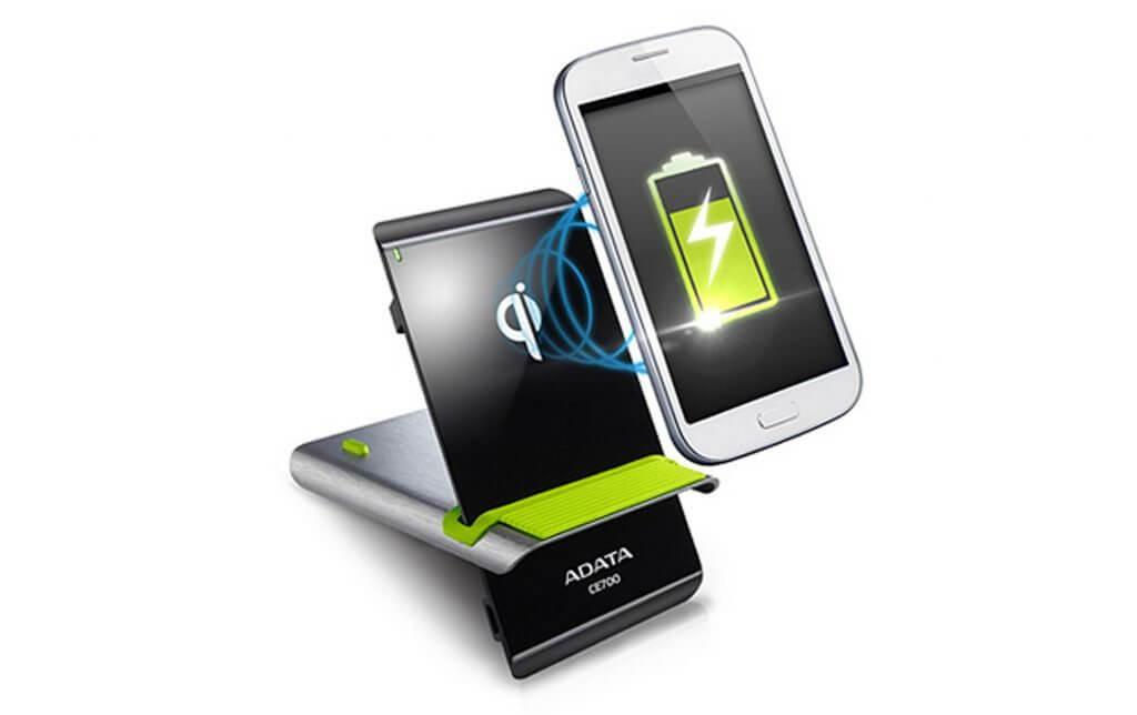Adata lança carregador sem fio para smartphones
