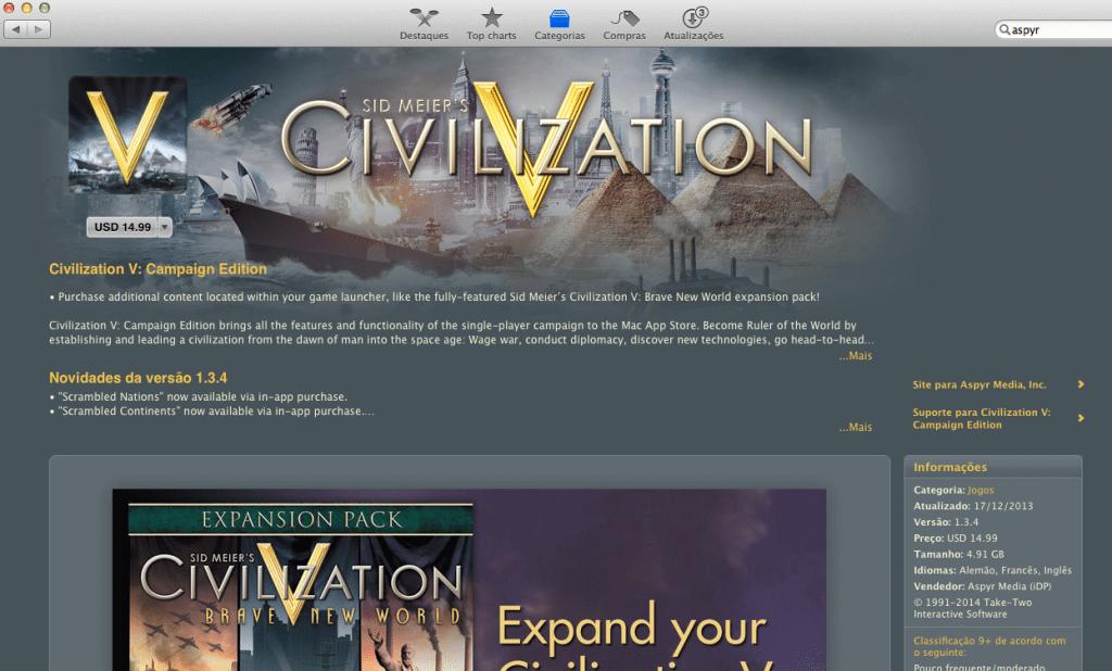 Jogos Pesados no Mac