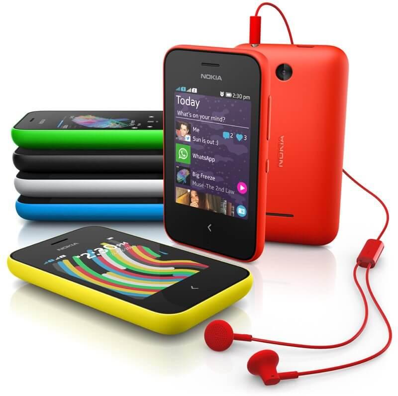 Nokia Asha 230 - Microsoft vai encerrar produção de aparelhos da Nokia com Android, Asha e S40