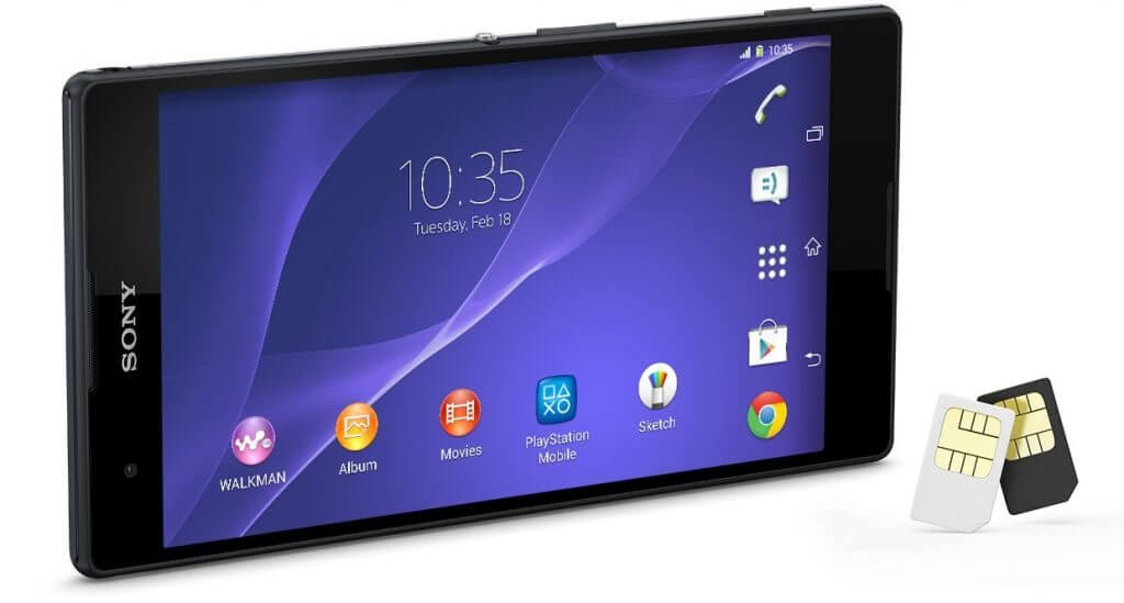 Xperia T2 Ultra Dual aparece no site da Sony Brasil