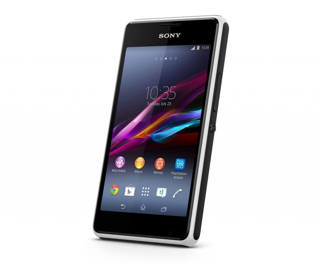 Sony Xperia E1 chega ao Brasil com som potente e TV digital