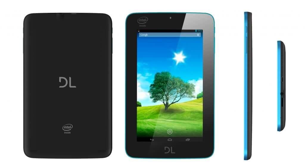 DL lança tablet com processador Intel por R$ 449