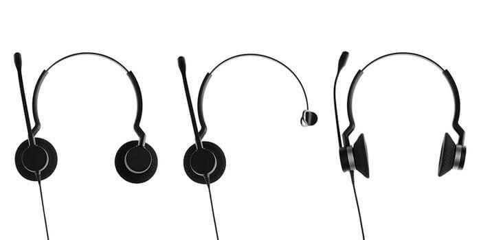 Jabra BIZ 2300, o headset com haste inquebrável e cabo em kevlar