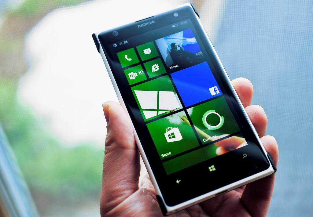 Windows Phone 8.1 Tela Inicial