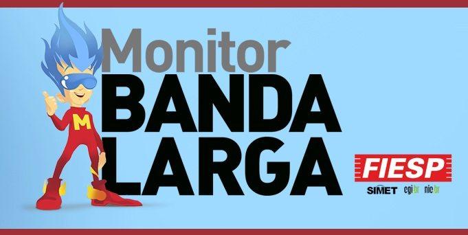 Monitor Banda Larga ajuda a medir velocidade da internet