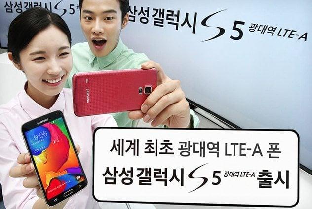 Samsung lança versão do Galaxy S5 com processador mais potente e tela de ultra resolução