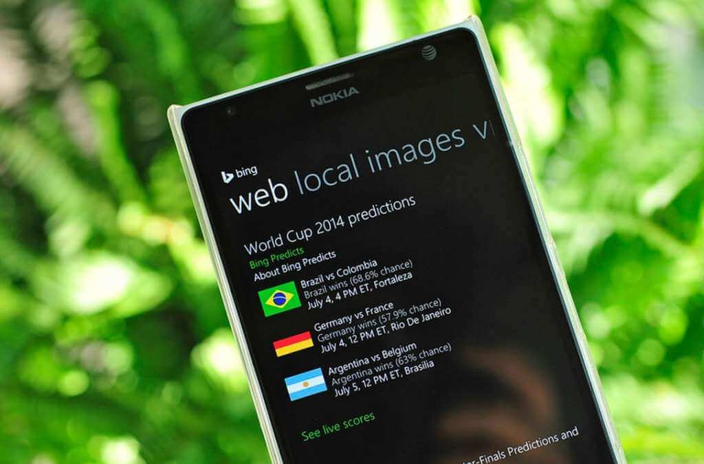 Cortana Copa do Mundo - Alemanha vence a Copa do Mundo segundo previsão do Bing