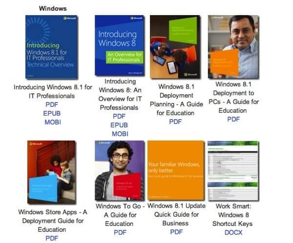 Microsoft ebooks gratuitos