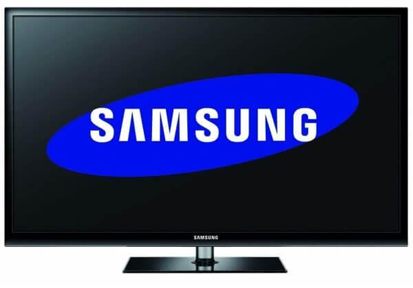 Samsung widescreen 3d plasma tv