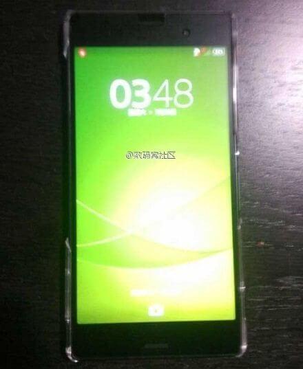 Vazam imagens do suposto Sony Xperia Z3 Compact