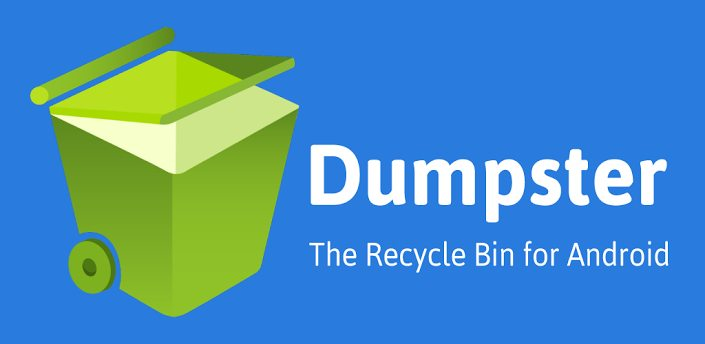 dumpster - Dumpster: restaure arquivos apagados no Android