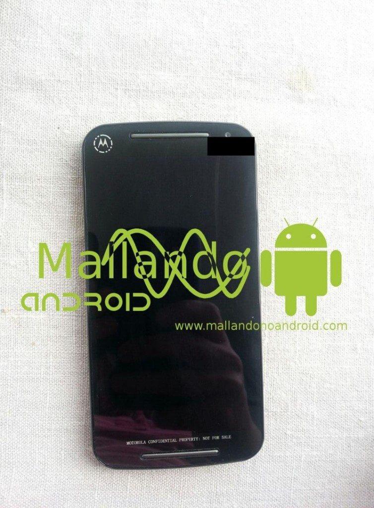 Moto G: foto mostra nova geração do smartphone