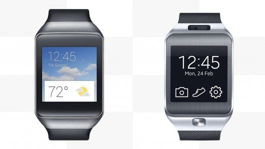 samsung gear live vs gear 2 smartwatch