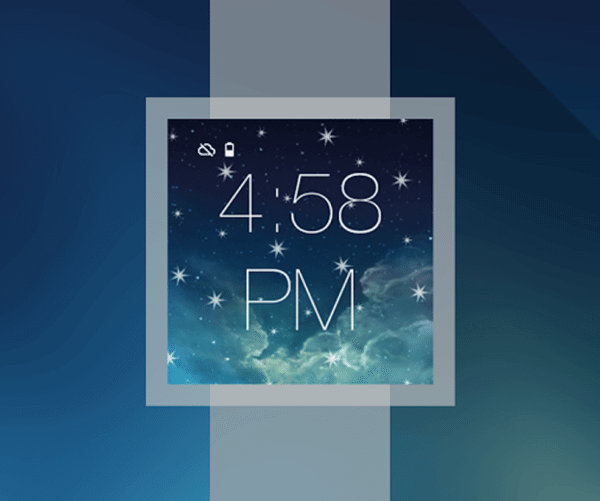 Tema transforma o Android Wear no iWatch 4
