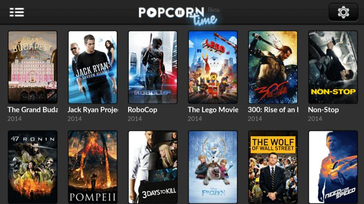 Popcorn Time, o Netflix dos piratas, continua avançando