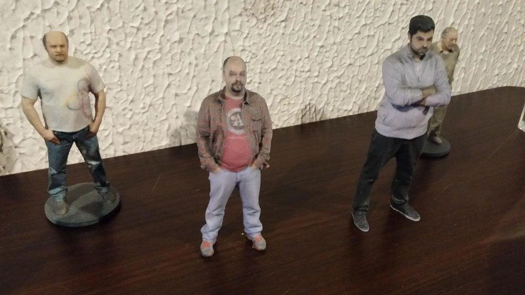 Avatoys lança serviço de impressão 3D para criação de miniaturas de pessoas