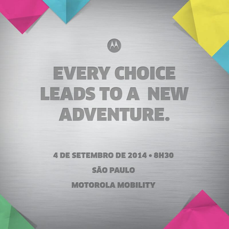 Moto G+1 e Moto X+1 devem chegar ao Brasil em 4 de setembro