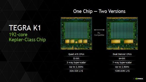 tegra k1 - NVIDIA apresenta o Tegra K1 Denver, o primeiro processador 64 bits pra Android