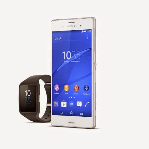 Sony apresenta Xperia Z3, SmartBand Talk e SmartWatch 3 na IFA