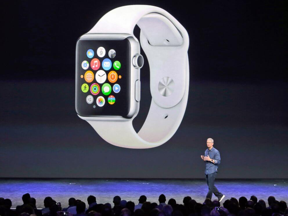 Apple Watch iWatch smartwatch relogio inteligente 3