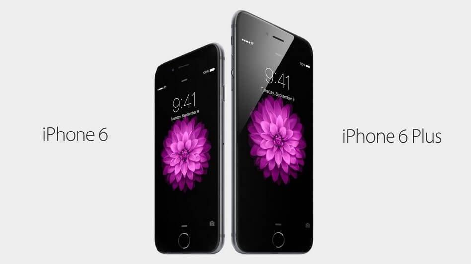 Apple lança iPhone 6 e iPhone 6 Plus com telas de 4,7 e 5,5 polegadas!