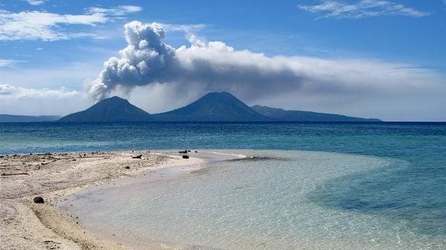 Erupcao vulcanica