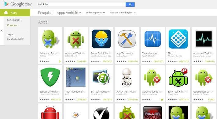 android task killer - Fechar aplicativos recentes piora o desempenho do smartphone