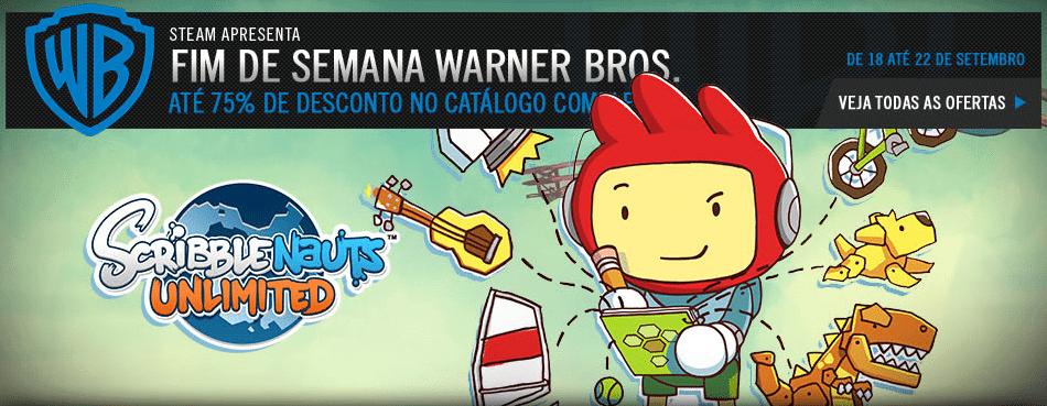 fds warner bros - Fim de semana Warner Bros na Steam: jogos da produtora com 75% de desconto