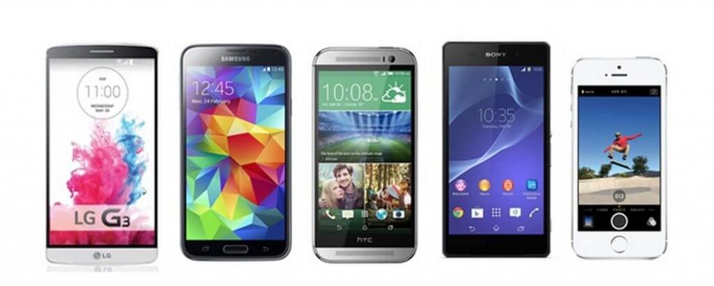 Jovens brasileiros buscam smartphones com telas maiores
