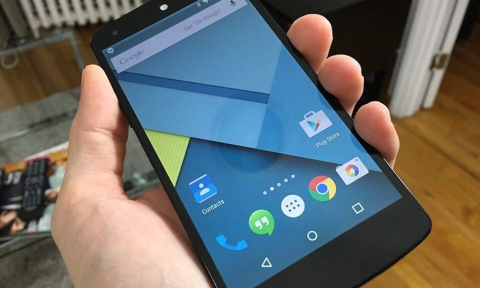 android 5 0 lollipop nexus 5
