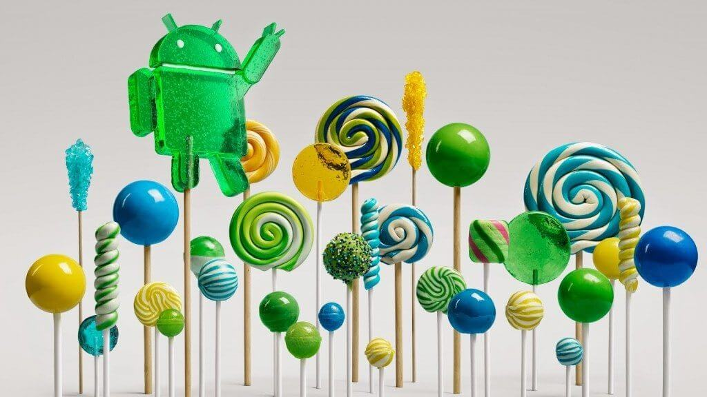 android google lollipop forest