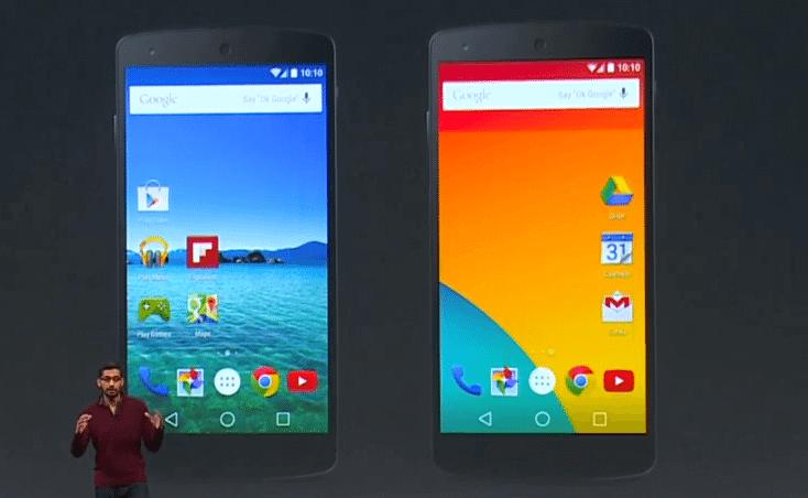 Espera-se que a empresa oficialize a nova versão do Android, até o momento conhecida como Android L, apresente o Android Wear 2.0 para dispositivos vestíveis e smartwatches, o smartphone Nexus 6 (codinome Shamu), o tablet Nexus 9 e até um novo produto Android TV.