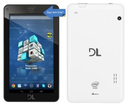 DL renova parceria com a Intel e lança o tablet X-Pro Dual