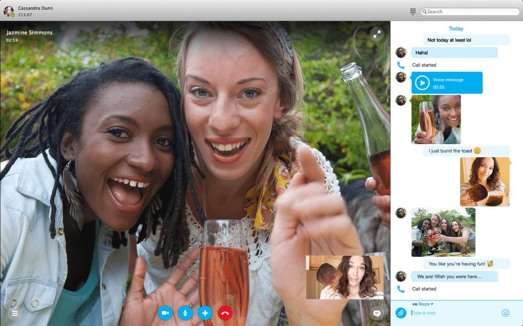 Skype revela novo design para Mac e Windows